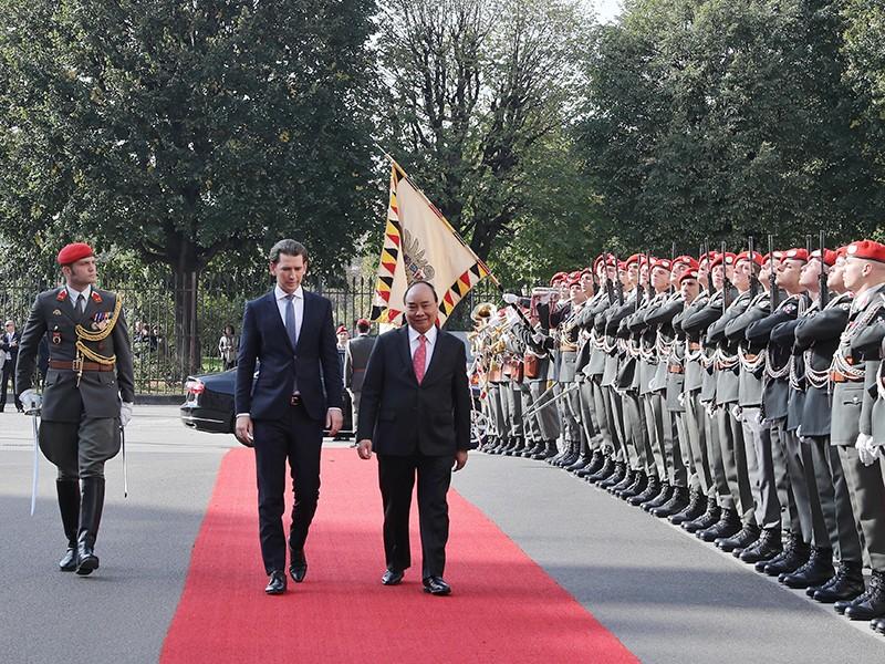 Thủ tướng Nguyễn Xuân Phúc thăm Cộng hòa Áo - ảnh 1
