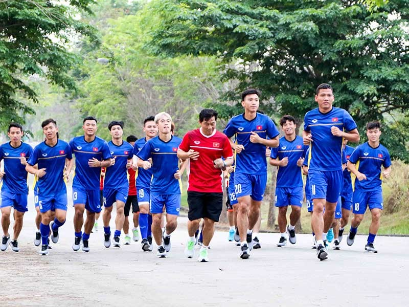 Cấm ghi hình đội tuyển thi đấu ở Paju - ảnh 1