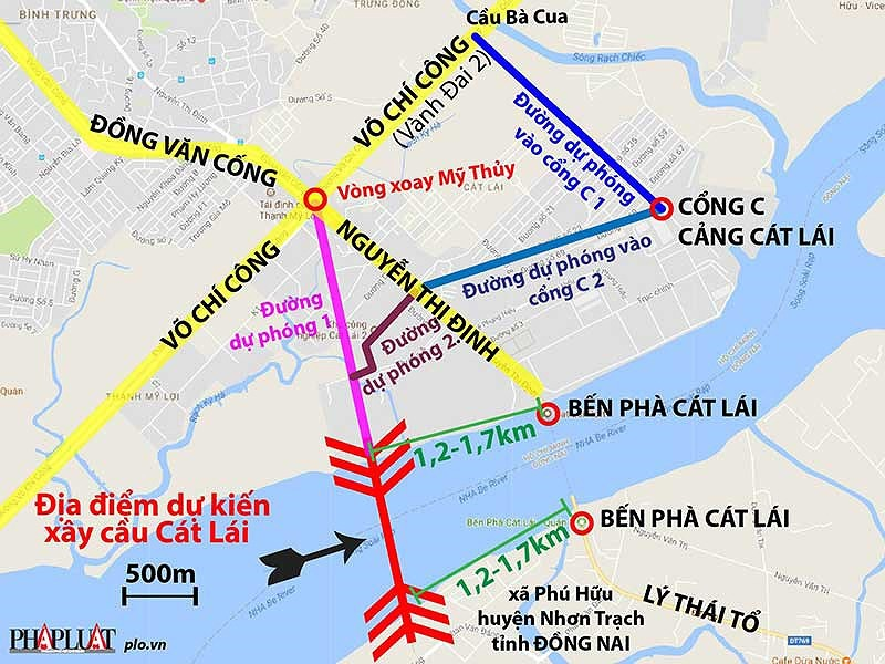 TP.HCM chưa đồng ý để Đồng Nai xây cầu Cát Lái - ảnh 1
