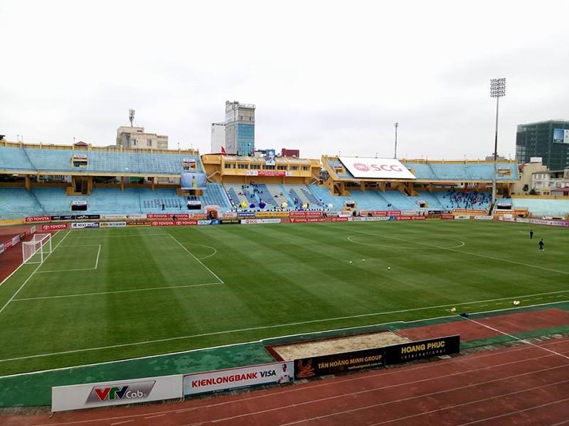 Sân Thống Nhất 'khoác áo Champion' do Thái Lan tài trợ - ảnh 1