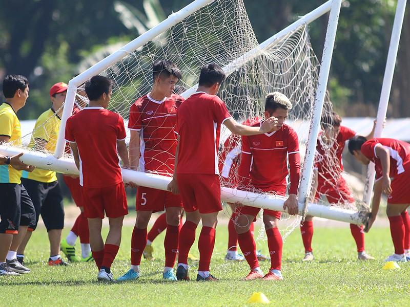 Hòa Myanmar làm gãy toan tính của HLV Park Hang-seo - ảnh 1