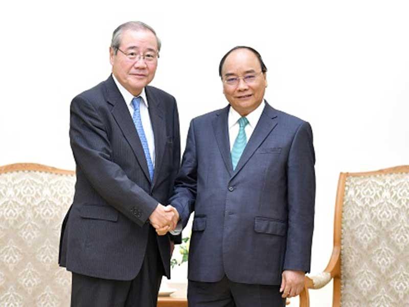 Thủ tướng tiếp tập đoàn tài chính hàng đầu Nhật Bản - ảnh 1