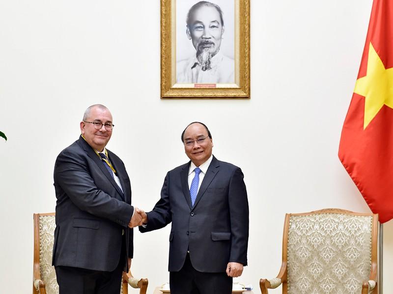 Thủ tướng tiếp đại sứ Vương quốc Bỉ - ảnh 1