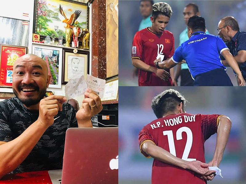 Fan Việt Nam mua xổ số theo đội hình của thầy Park - ảnh 1