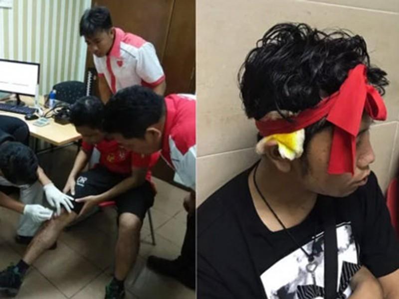 Cổ động viên Myanmar tố bị đánh sau trận Malaysia - Myanmar - ảnh 1