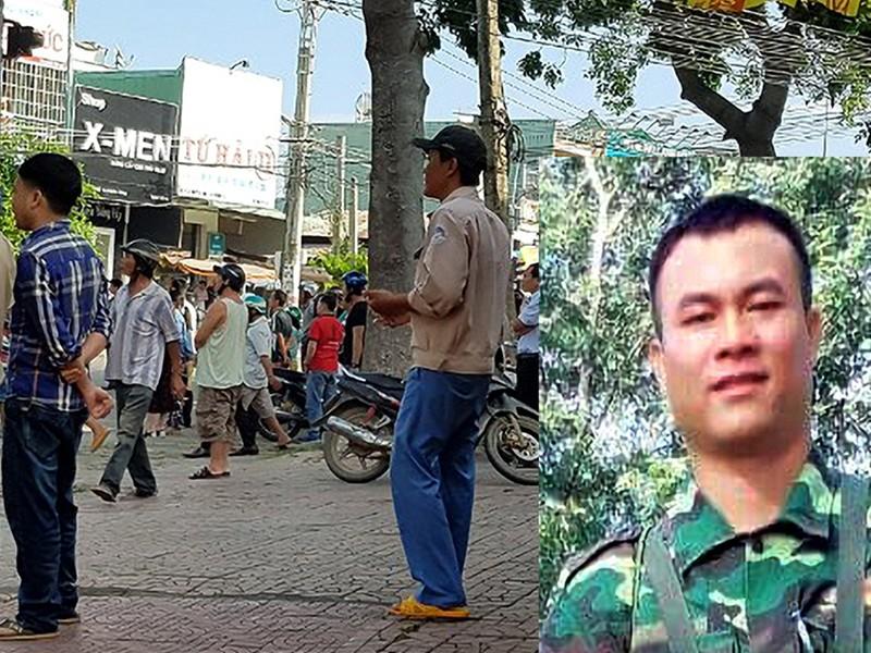 Phó chủ tịch HĐND phường bị bắn chết: Nghi do tình cảm - ảnh 1