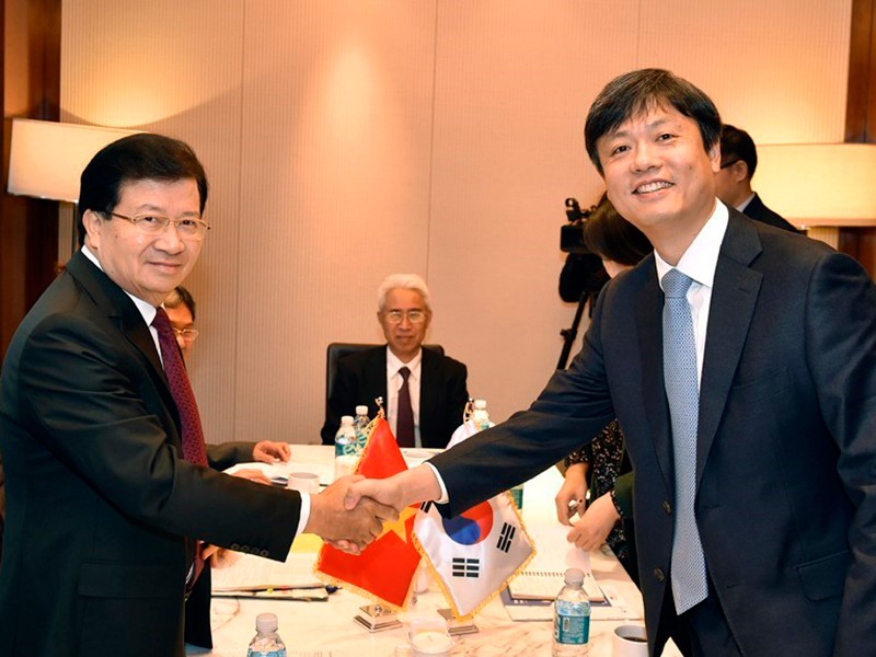 VN và Hàn Quốc hướng đến kim ngạch song phương 100 tỉ USD - ảnh 1