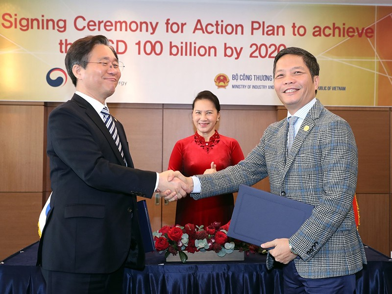 Hàn Quốc hỗ trợ VN nâng cao năng lực cạnh tranh thương mại - ảnh 1
