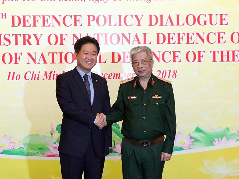 VN-Hàn Quốc tăng cường hợp tác trong lĩnh vực quốc phòng - ảnh 1