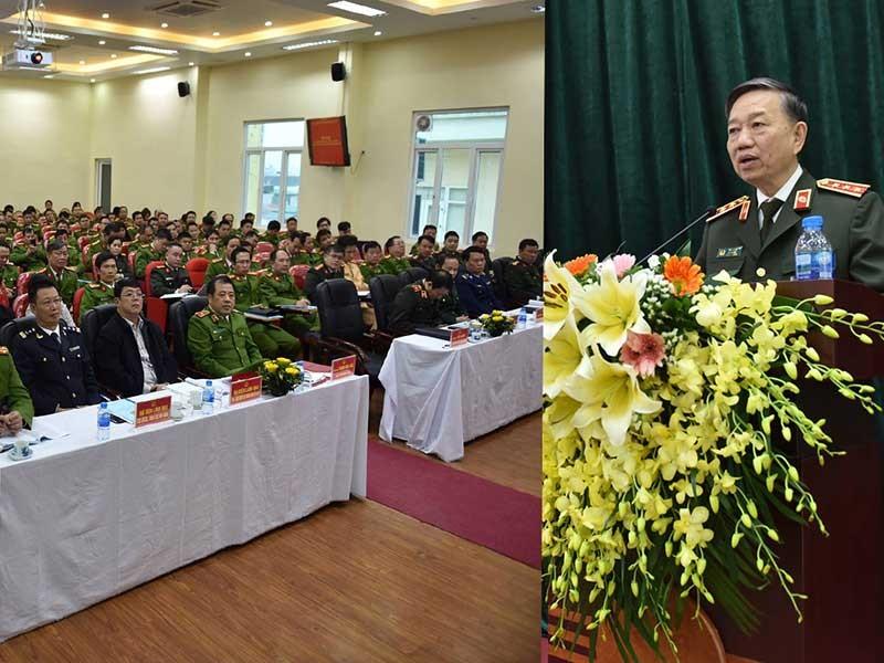 Bộ trưởng Tô Lâm: Cần quản chặt người 'ngáo đá' - ảnh 1