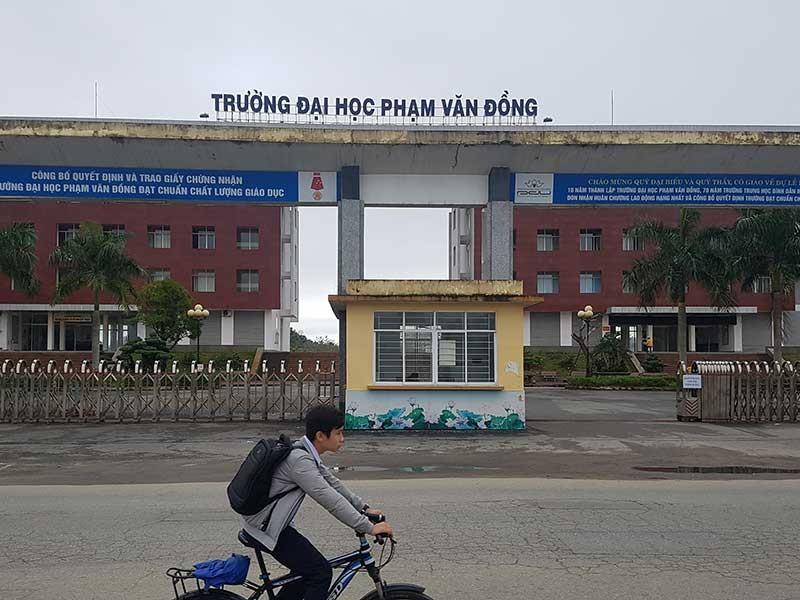 Có nên xã hội hóa Đại học Phạm Văn Đồng? - ảnh 1
