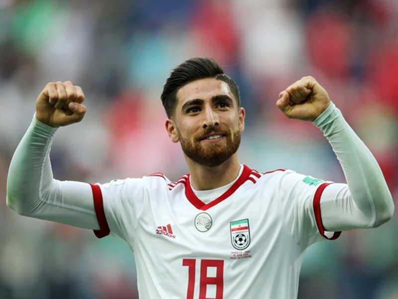 Iran đưa vua phá lưới giải Hà Lan đá với Việt Nam - ảnh 1