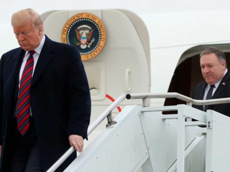 Ông Trump thăm người nhà binh sĩ hy sinh ở Syria - ảnh 1