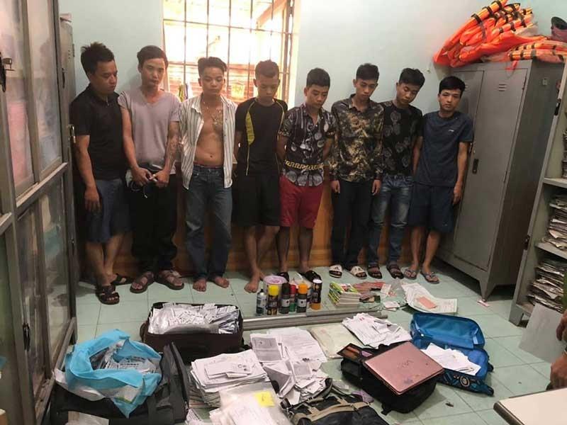 Bắt giam nhóm cho vay lãi nặng ở Đồng Nai - ảnh 1