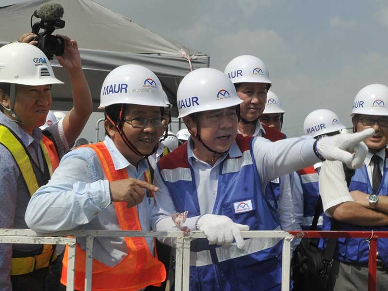 Tuyến metro số 1: Tăng tốc để hoàn thành vào tháng 10-2020 - ảnh 1