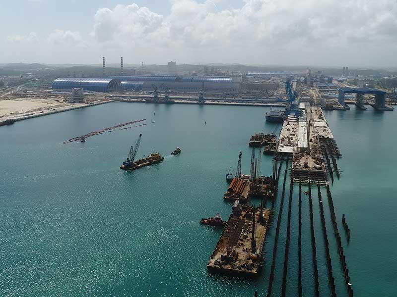 Sẽ nhận chìm 15 triệu m3 vật chất xuống biển Dung Quất - ảnh 1