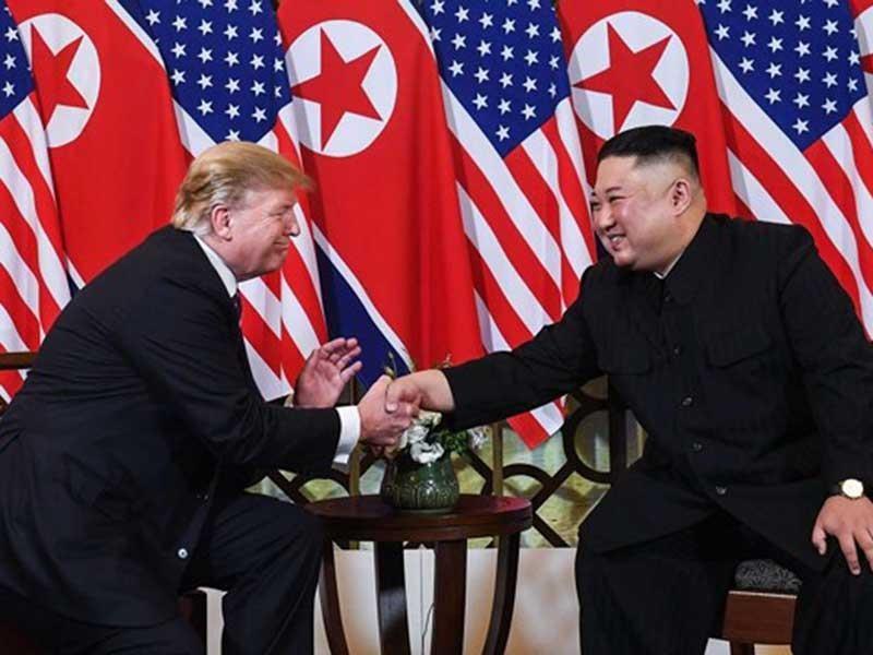 Thượng đỉnh Mỹ-Triều: Cú bắt tay lịch sử tại Hà Nội - ảnh 2