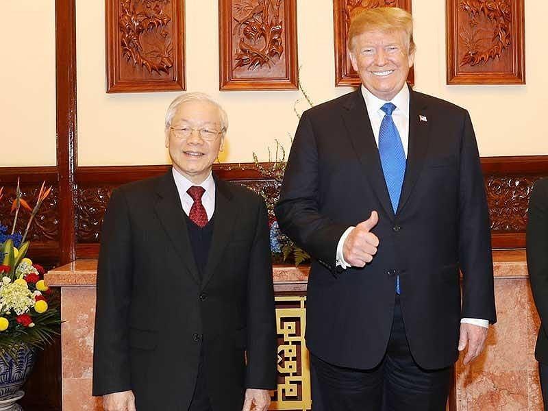 Thượng đỉnh Mỹ-Triều: Cú bắt tay lịch sử tại Hà Nội - ảnh 1