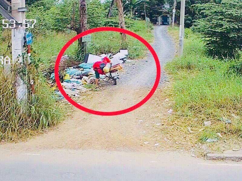 Dân xả rác, phường, xã, khu phố chịu trách nhiệm - ảnh 1