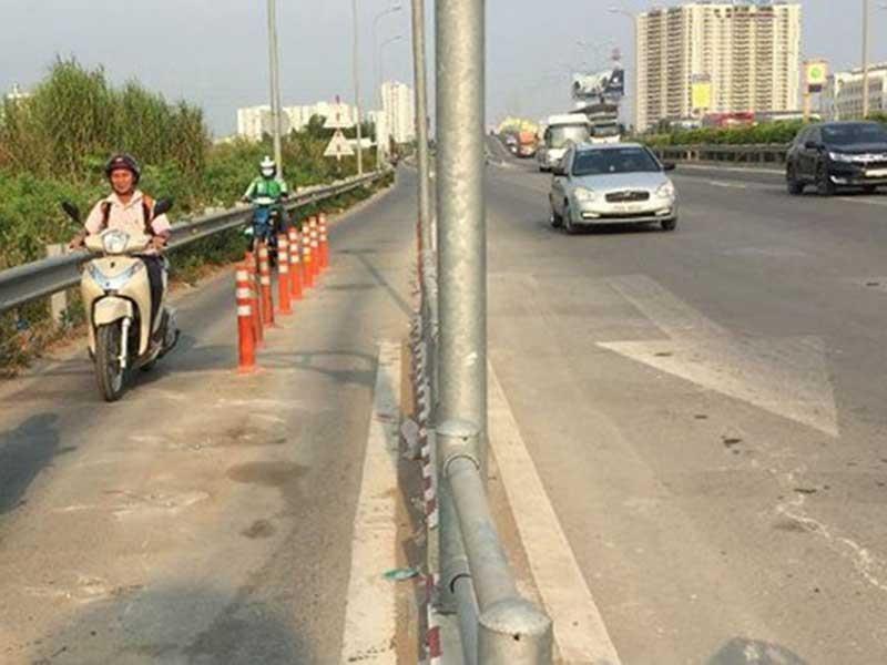 Gỡ dải bê tông gây chết người trên đường dẫn cao tốc - ảnh 2