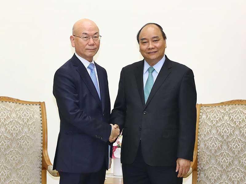 Thủ tướng tiếp chủ tịch Ủy ban Truyền thông Hàn Quốc - ảnh 1