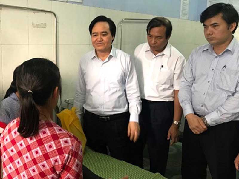 Bộ trưởng Nhạ cảnh tỉnh toàn ngành từ vụ nữ sinh bị đánh - ảnh 1