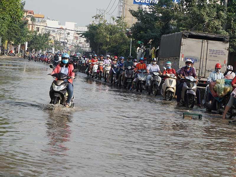 TP.HCM khẩn trương chống ngập trước mùa mưa 2019 - ảnh 1