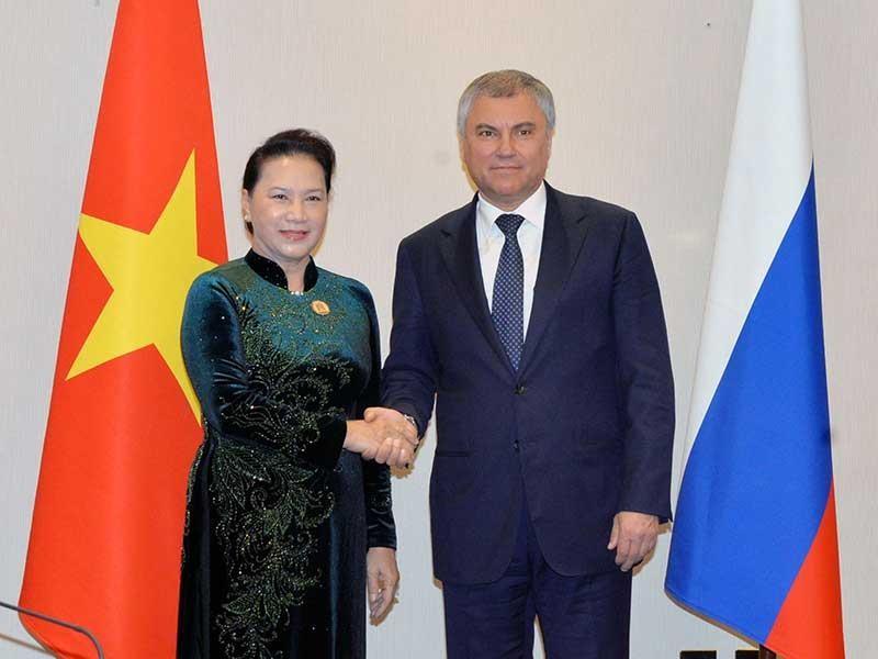 Quan hệ Việt-Nga đang phát triển trên tất cả lĩnh vực - ảnh 1
