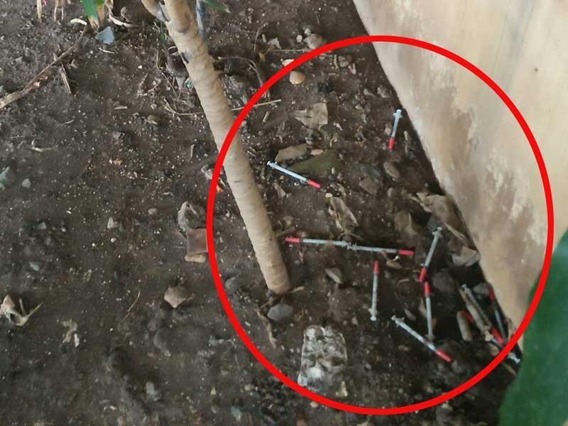 Tụ điểm chích ma túy dưới gầm cầu trung tâm TP.HCM - ảnh 1