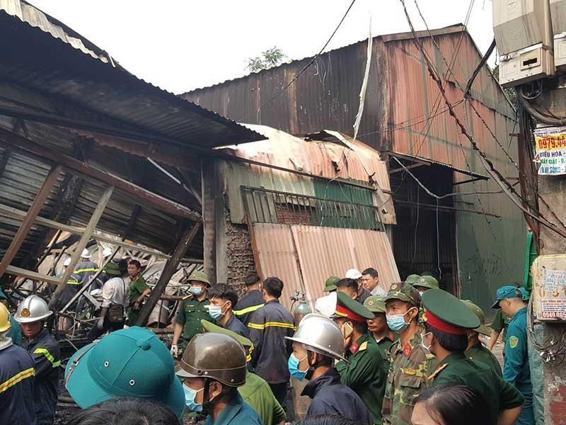 Công an thông tin vụ cháy 8 người chết - ảnh 1