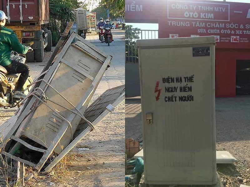 Tủ điện 'nguy hiểm chết người' đã được thay thế - ảnh 1