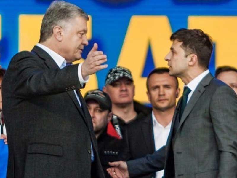Tân tổng thống Ukraine: Chính trị gia hay nghệ sĩ hài? - ảnh 1
