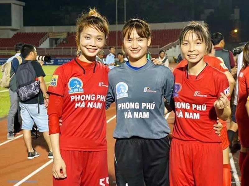 Nữ tuyển thủ được CLB Chonburi mời thi đấu - ảnh 1