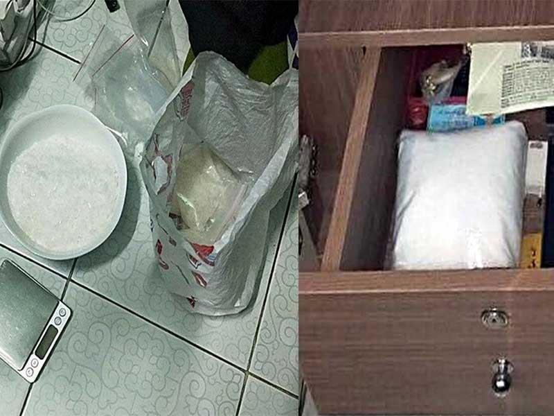 Trùm ma túy Phan Thiết bị bắt trong phòng ngủ - ảnh 1