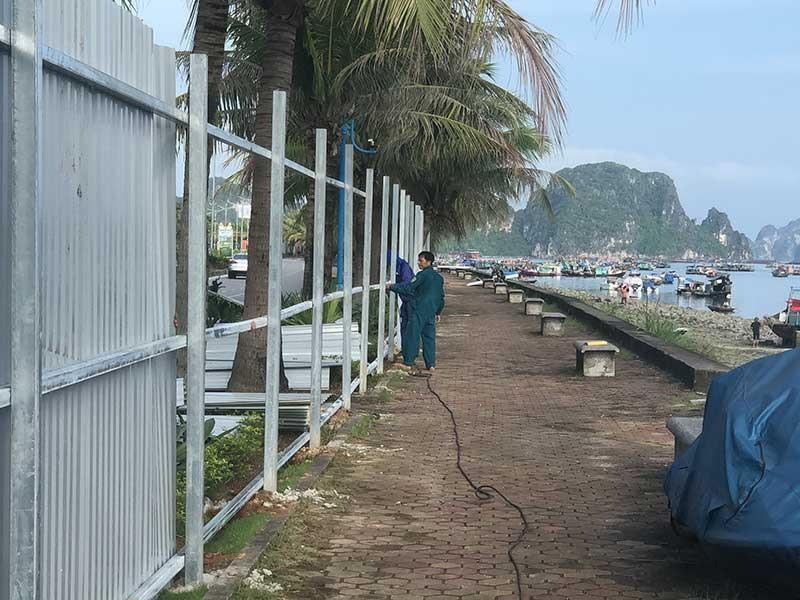 Lo đường bao biển lấn vịnh Hạ Long - ảnh 1