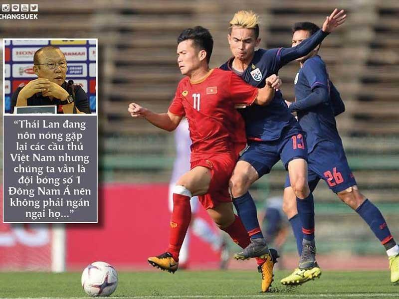 King's Cup, Thái Lan-VN: Thái nóng, thầy trò ông Park vẫn lạnh - ảnh 1