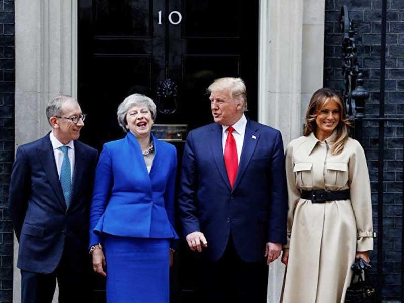 Những điểm nóng trong chuyến thăm Anh của ông Trump - ảnh 1