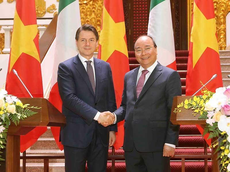 Việt Nam và Ý nhất trí đưa kim ngạch thương mại lên 6 tỉ đô - ảnh 1
