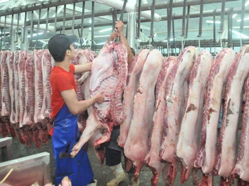 Giá thịt heo tăng sốc, khan hiếm - ảnh 1