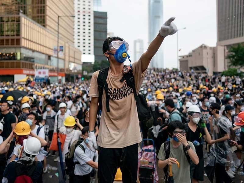 Phong trào chống dự luật dẫn độ Hong Kong ngày càng gay cấn - ảnh 1