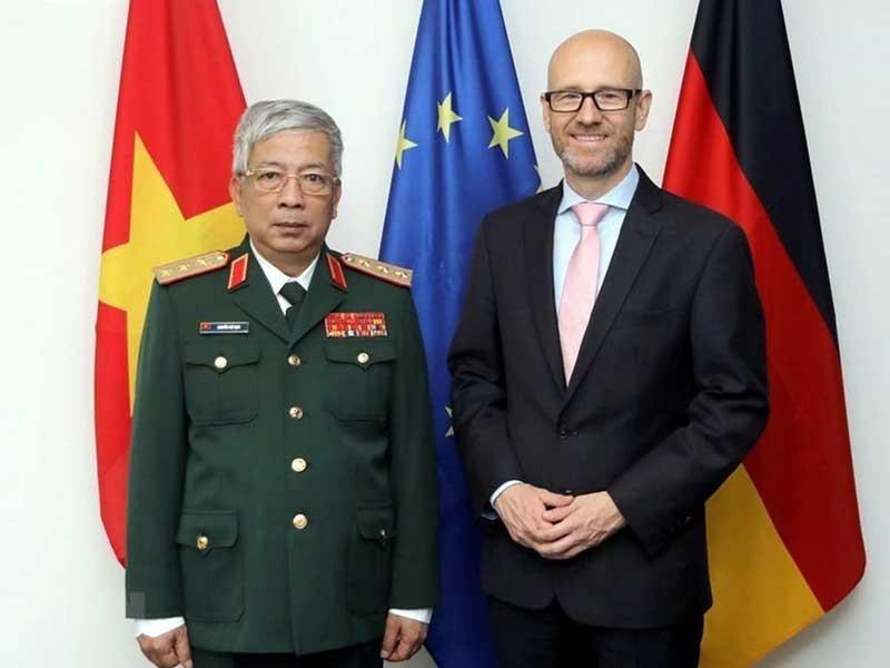 Thúc đẩy quan hệ hợp tác quốc phòng giữa Đức và Việt Nam - ảnh 1