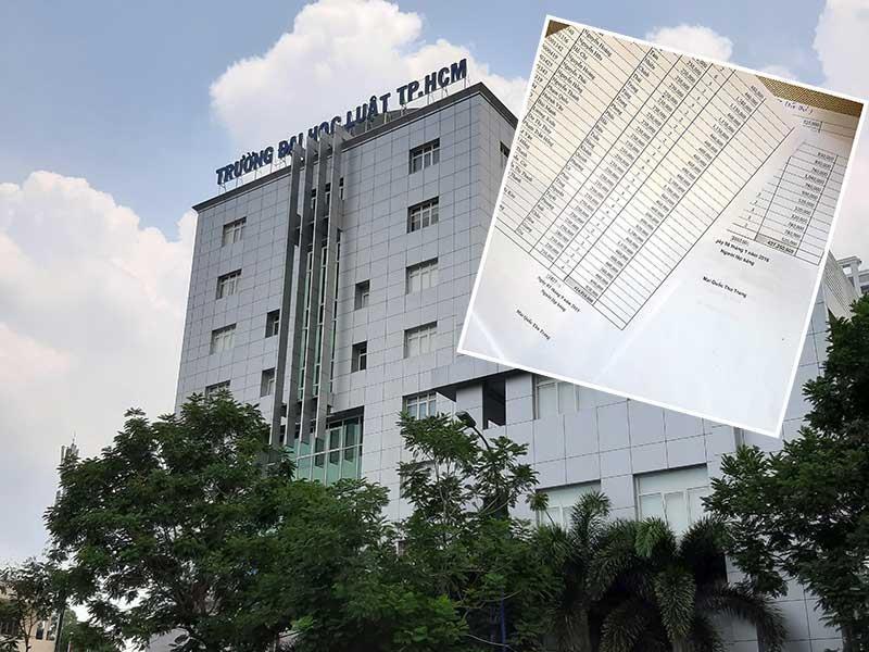 Nghi vấn sai phạm tài chính tại ĐH Luật TP.HCM - ảnh 1