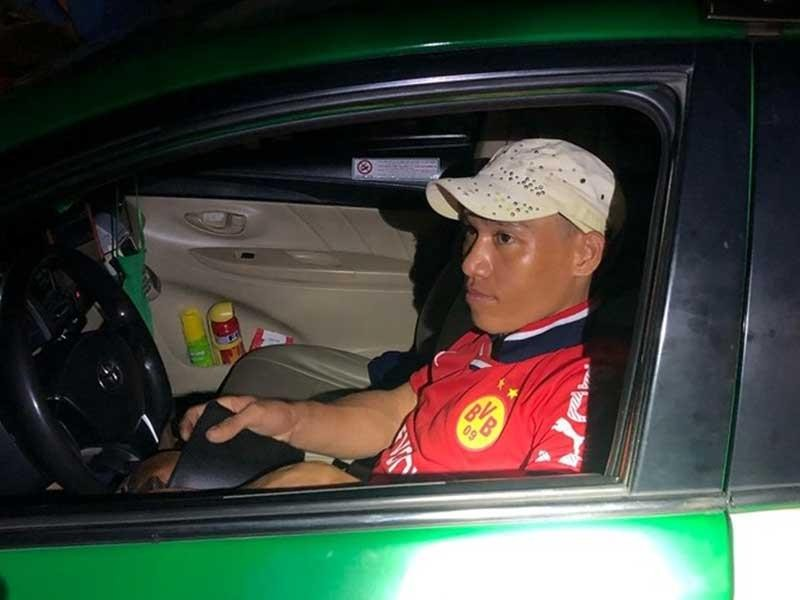 Phê ma túy cướp taxi ở Bình Dương - ảnh 1
