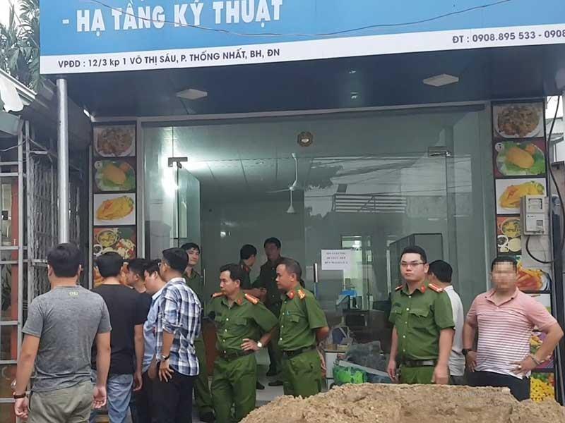 Khám nhà người gọi giang hồ vây xe chở công an Đồng Nai - ảnh 1