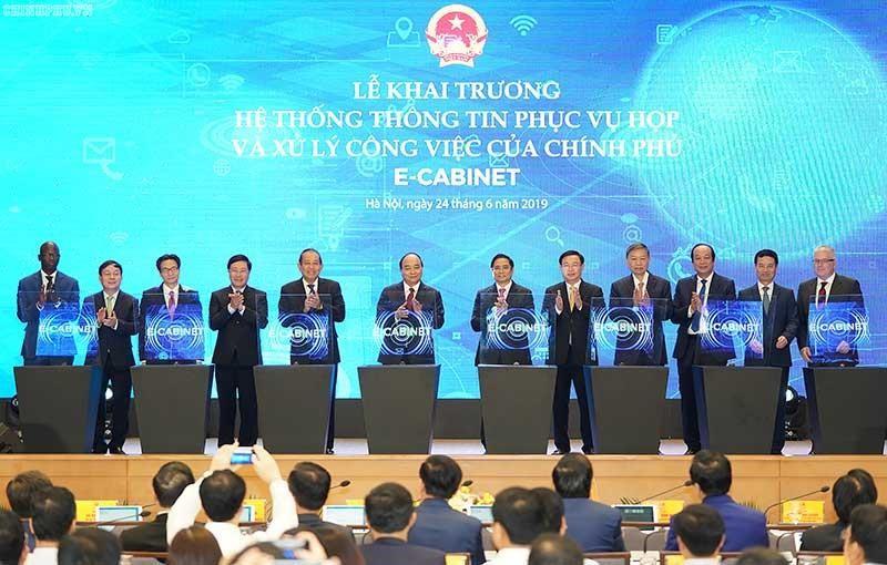 e-Cabinet: Bước khởi đầu của chính phủ điện tử - ảnh 1