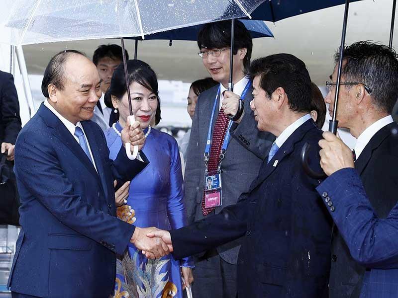 Thủ tướng đến Nhật tham dự Hội nghị G20 - ảnh 1