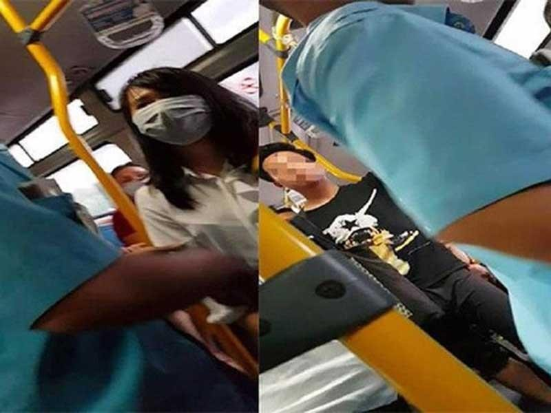 Phạt thanh niên thủ dâm trên xe buýt: Gượng gạo vì thiếu luật - ảnh 1