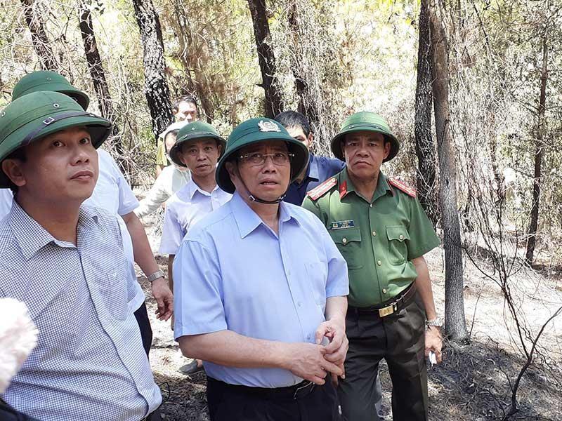 Hơn 15.000 người dập cháy rừng ở Hà Tĩnh, Nghệ An - ảnh 1