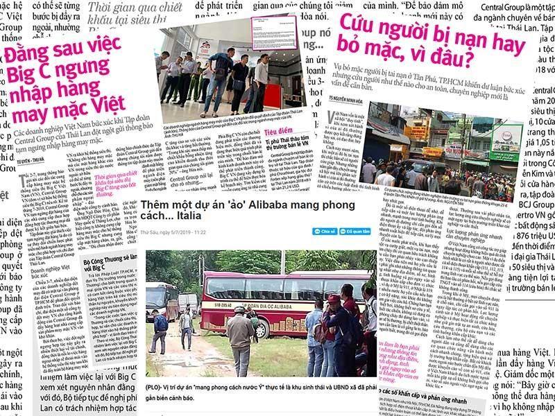 Chữ 'tín' trong vụ Big C ngưng nhập hàng Việt - ảnh 1