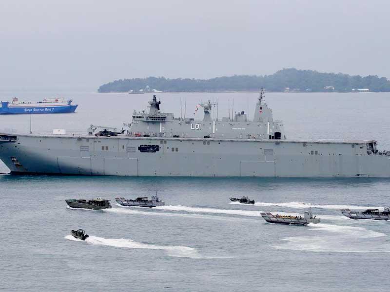 Úc ứng phó chiến lược biển của Trung Quốc - ảnh 1